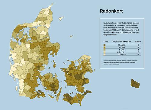 Hvor kommer radon fra?